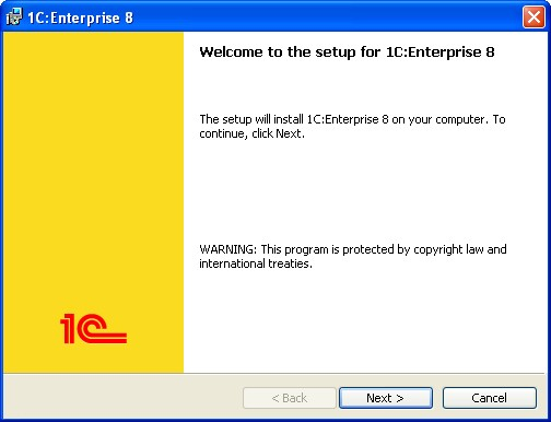 1C:Enterprise 8.3. Client/Server mode. Administrator Guide. Chapter 3. Installation of system components